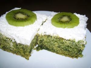ıspanaklı pasta görseli