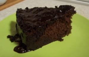 çikolatalı ıslak
