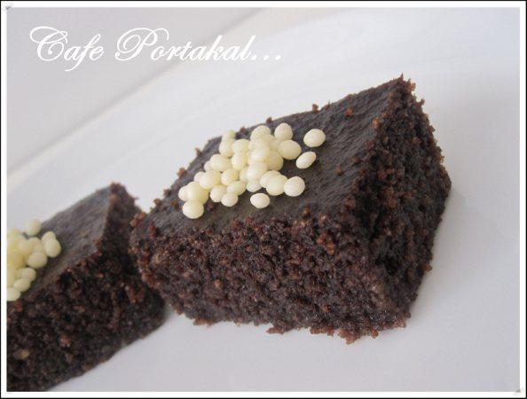 Çikolatalı Revani Tarifi 1