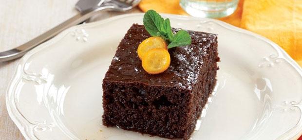 Çikolatalı Revani Tarifi 4