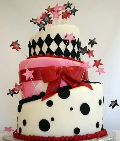 Birbirinden Güzel 13 Doğum Günü Pastası Modeli 5