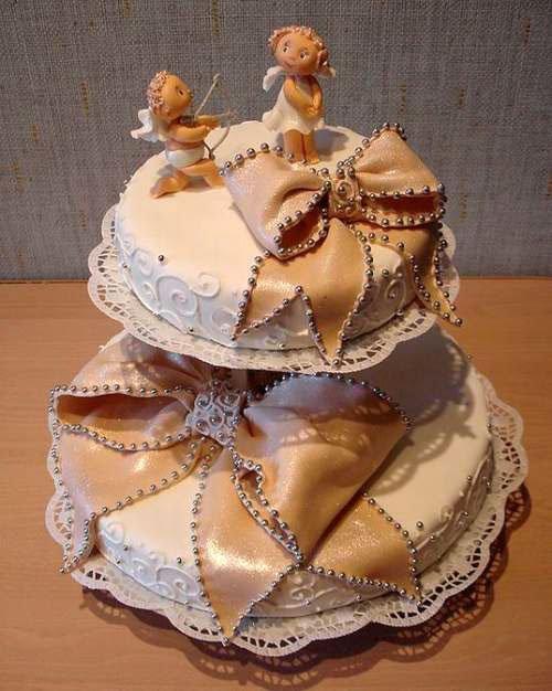 Birbirinden Güzel 12 Düğün Pastası Modeli 2