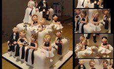 Birbirinden Güzel 12 Düğün Pastası Modeli
