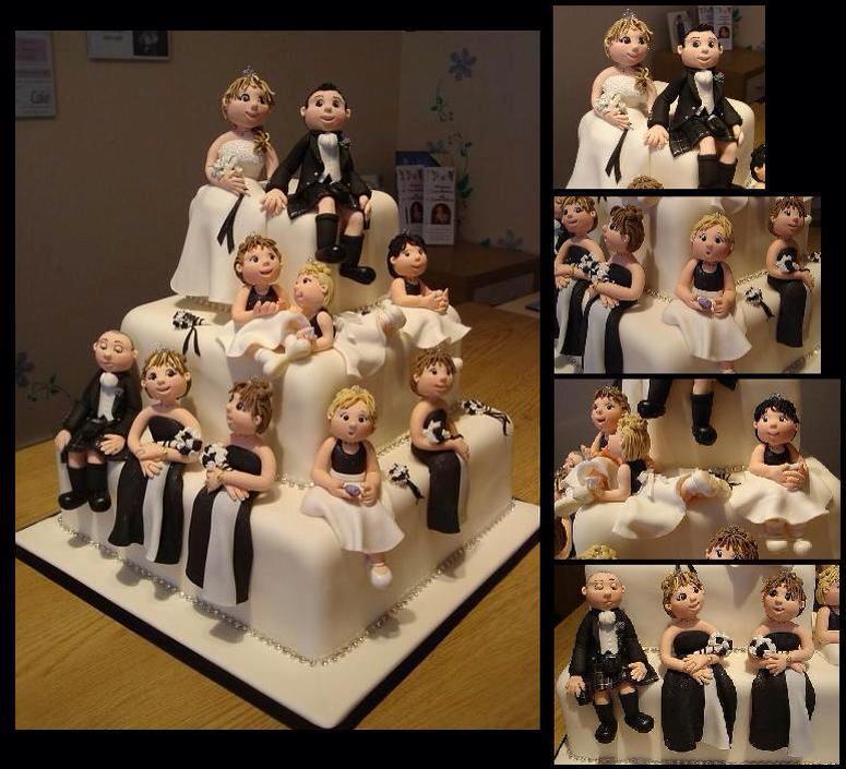 Birbirinden Güzel 12 Düğün Pastası Modeli 5