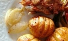 Fırın Torbasında Tavuklu Yemek