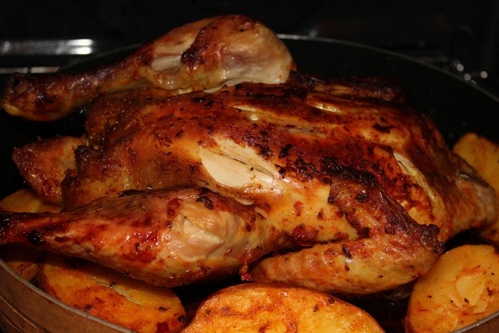 Fırında Tavuk Görsel
