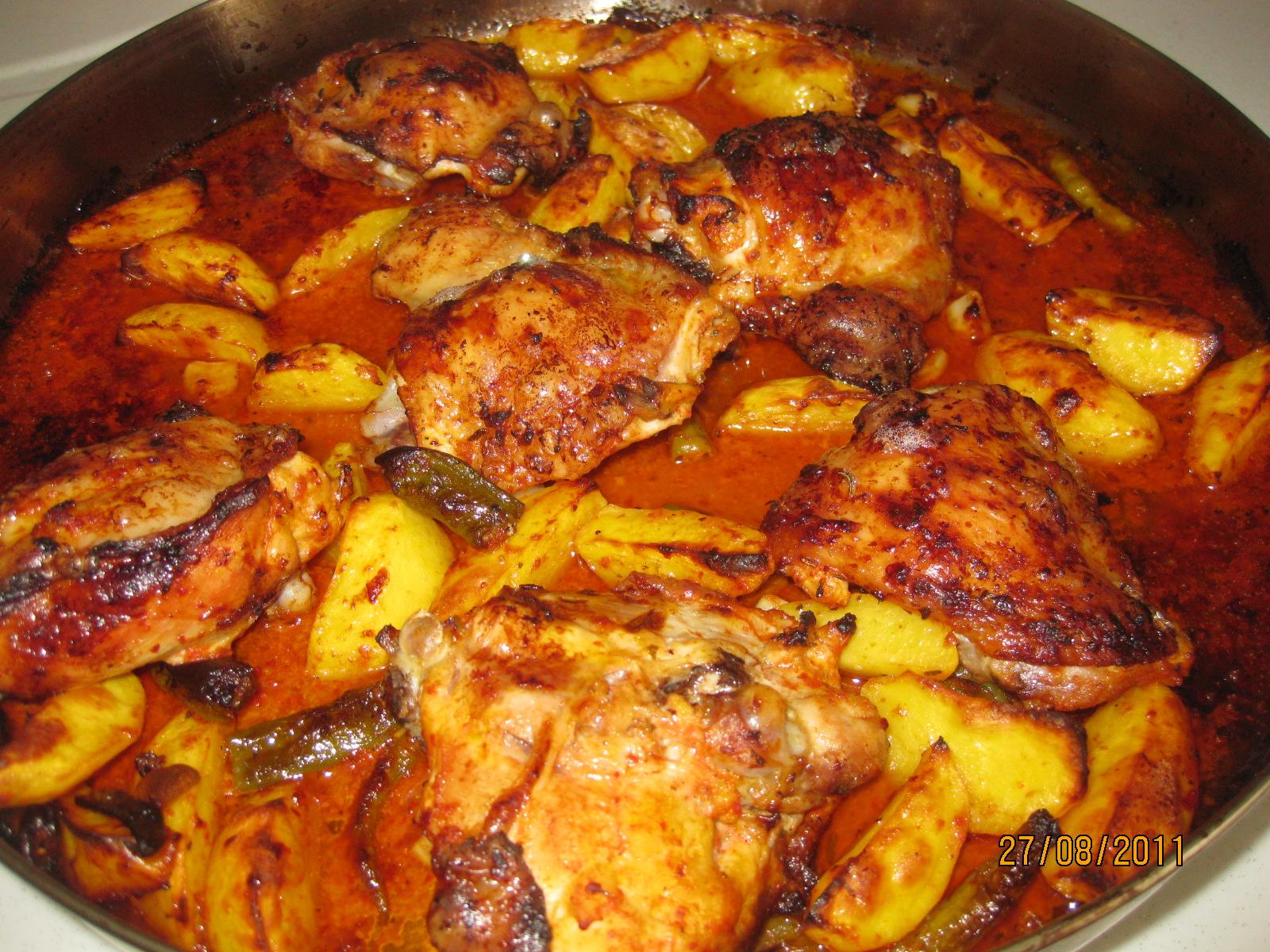 Fırında Tavuk But Tarifi – Tavuk Yemekleri