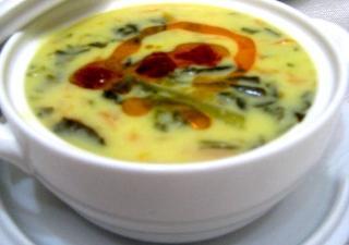 Ispanaklı Çorba Tarifi 1