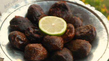 Zeytinyağlı Kuru Patlıcan Dolması
