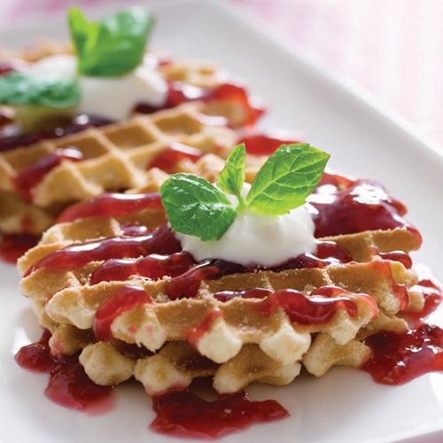 waffle tarifi Görselleri