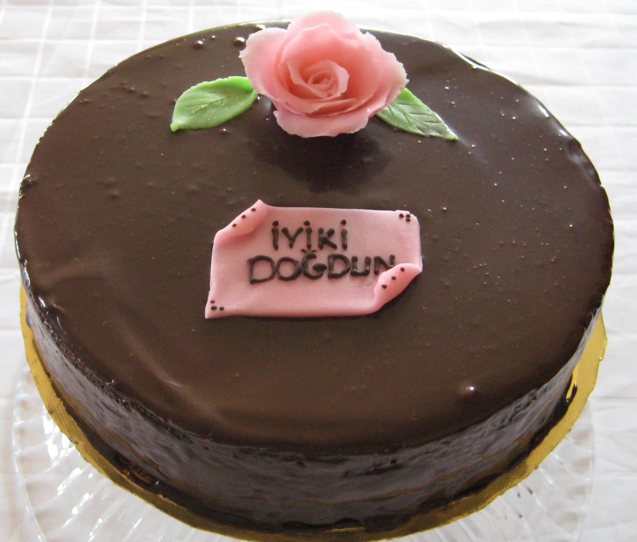Çikolatalı Ganaj Pastalar 1