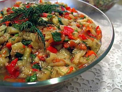 patlıcan salatası görselleri