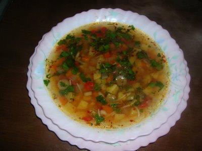 Sebze Çorbası Tarifi 4