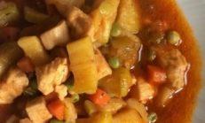 Sebzeli Tavuk Yapımı
