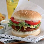 tavuk burger hazırlanışı