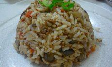 Taze Patlıcanlı Pilav Tarifi