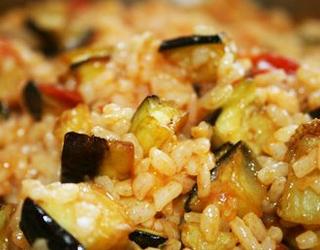 Taze Patlıcanlı Pilav Tarifi 3