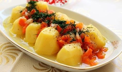 Zeytinyağlı Patates Pilaki 1