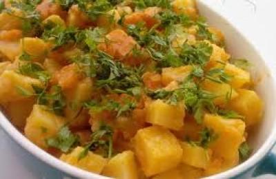 Zeytinyağlı Patates Pilaki 4