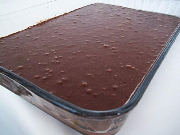 İçi Pudingli Kek 2