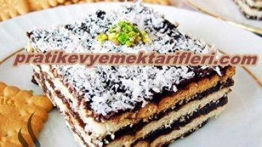 Bisküvili Pasta Tarifi Yeni