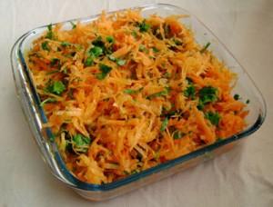 havuc salatası