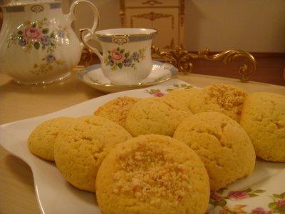 Mısır unlu kurabiye tarifi