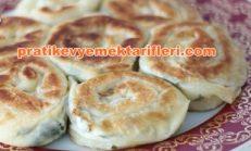 Pratik Peynirli Gül Böreği Tarifi