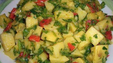 Patates Salata Tarifi Görselleri