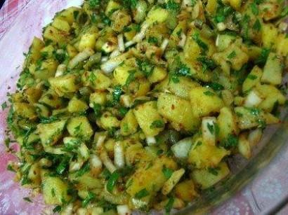 Patates Salata Tarifi Görselleri 4