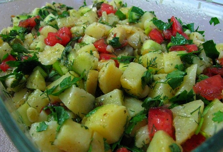 Patates Salata Tarifi Görselleri 5