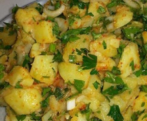 Patates Salata Tarifi Görselleri 2