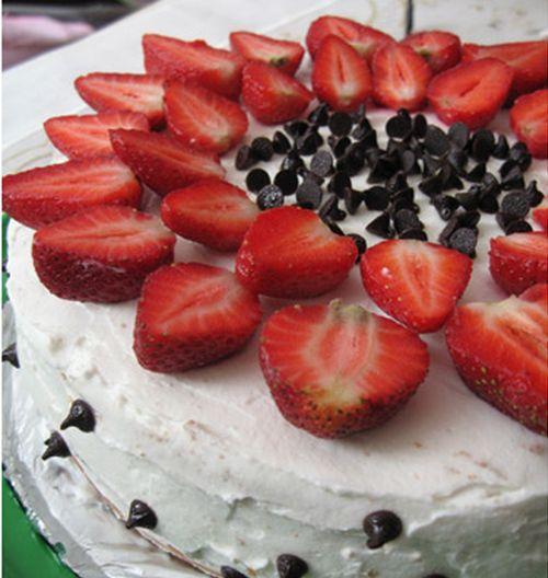 Çilekli pasta tarifi yeni