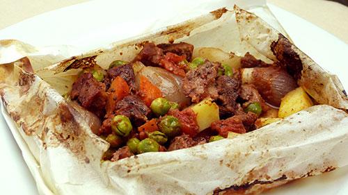 Pratik Kağı Kebabı Tarifi