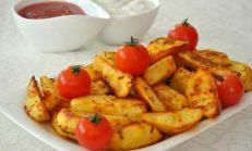 Elmalı Dilimi Patates Tarifi