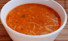 Sebzeli Şehriye Çorba Tarifi