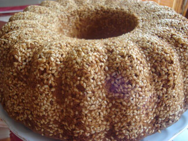 Susamlı Kek Tarifi 3
