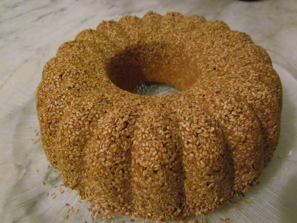 Susamlı Kek Tarifi 2