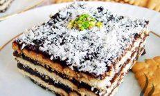 Kolay Bisküvili Pasta