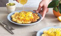 Portakal Şuruplu Waffle Tarifi