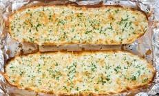 Peynirli ve Sarımsaklı Ekmek Tarifi